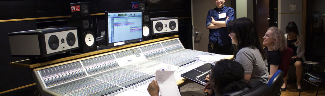 The only professional recording studios in the world built and run by women link