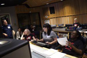 WAM Class Recording in Studio