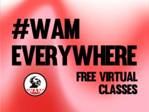 #WAMEverywhere logo